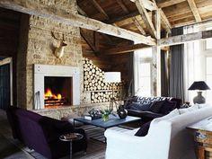 C R I B S U I T E #interior #design #modern  Rescued Idaho Mountain Retreat by M.Elle Design