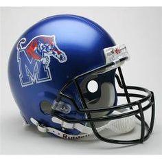 University of Memphis Tigers Full Size Authentic Riddell Helmet