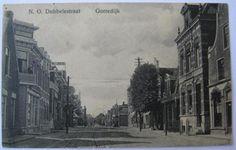 Gorredijk - N.O. Dubbelestraat - poststempel 1915 - R. Kiemstra, Gorredijk (uitgave)