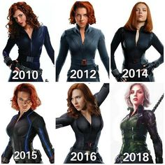 Black Widow, Natasha Romanoff