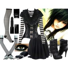 """Female Laughing Jack"" by bulletproof-07 on Polyvore"