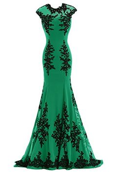 Sunary Black and Green Mermaid Mother of the Bride Dress Prom Gowns Chiffon Long US Size 2- Green Sunvary http://www.amazon.com/dp/B00M0DUPD2/ref=cm_sw_r_pi_dp_lP54ub1KWAZJX