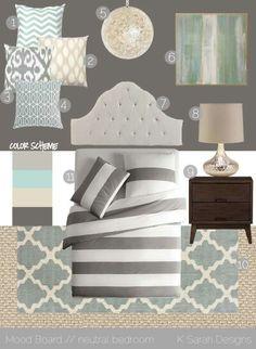 bedroom ideas...i like the colors