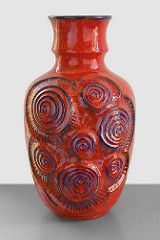 Bay 84-40 - Floor Vase (Fat Lava Wadersloh) Tags: west vintage lava bay fat retro german pottery 84 wgp