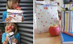 Quieres hacer esta bolsa para la merienda?? Haz click en la imagen para ver el tutorial!!