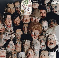 "10 more grotesque pictures of ""Spitting Image"" puppets!"