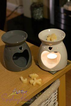 Large Elegant Heart Shaped Glazed Ceramic Oil Burner-Wax Melt Burner £10.00 Bedroom Candles, Ceramic Oil Burner, Candle Warmer, Oil Burners, Epiphany, Glazed Ceramic, Burning Candle, Wax Melts, Terracotta