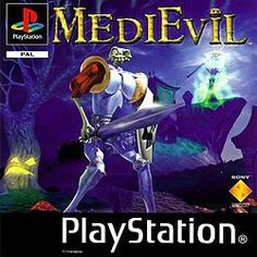 Medievil.  One of the BEST vintage Playstation games ever!  I still play it :)