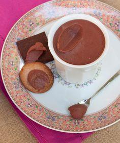 Κρέμα φράουλας και σοκολάτας