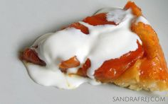 apricot tarte tatin / tarta tatin z morelami