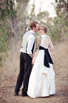 wedding dress idea for Disney's hocus pocus theme wedding