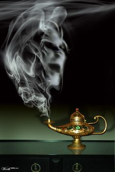 Magical Item-Genie lamp