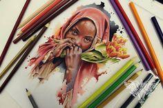 Watercolor Art - Vareta