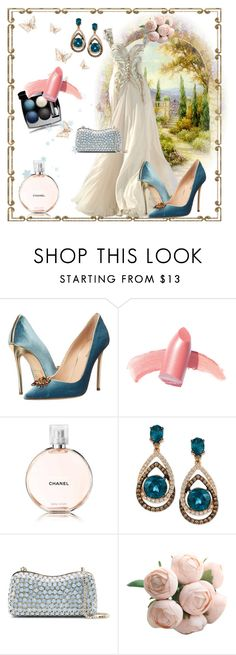 """""""Cassandra"""" by klm62 ❤ liked on Polyvore featuring Dsquared2, Elizabeth Arden, LE VIAN and Elie Saab"""