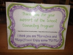 Confessions of a School Counselor: National School Counseling Week Link Party!