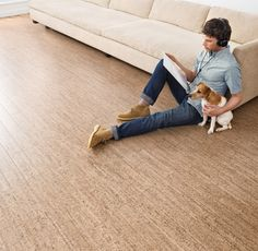 Real Cork Floors - Benefits - Comfort (CUSHIONS YOUR STEP)