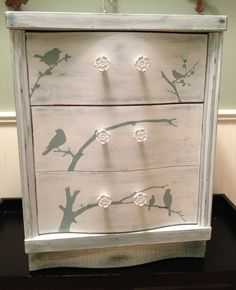 """Painted with Van Gogh Chalk Paint Collection """"Chalk"""" and """"Patina"""""""