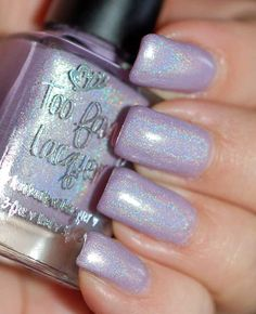 Lilac Rain - Too Fancy Lacquer.