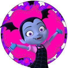 moldes e rotulos Vampirina do Disney Junior