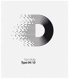 Graphic design Typographic Alphabet Letters D Typo Logo Design, Custom Logo Design, Custom Logos, Logo Inspiration, Logo Minimalista, Typographie Logo, Graphisches Design, Symbol Design, Typography Letters