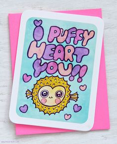 I Puffy Heart You by MyZoetrope