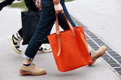 com 2013 latest Hermes handbags online outlet, wholesale PRADA tote online store, fast delivery cheap hermes handbags Lady Mechanika, Man Purse, Men Fashion, Fashion Trends, Fashion Inspiration, Fashion Outfits, Orange Bag, Paris, Handbags Online