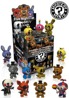 The characters from the frighteningly popular horror game Five Nights at Freddy's are sneaking into Funko!  During the day Freddy Fazbear's Pizza is a place of joy, where kids and parents alike enjoy the entertainment from the main attraction – the animatronic Freddy Fazbear and friends! But, at night, things start to change and those characters start to go missing! Your character plays a night-time security guard who must stay safe while maneuvering between rooms! Evading the terrifying…