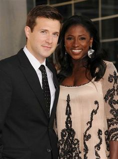 """True Blood"" actress Rutina Wesley and husband actor James Fishel!#love"