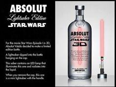 Star wars - absolut bottle