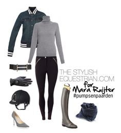 A fashion look from October 2016 featuring Repeat sweaters, Kingsland and Jimmy Choo pumps. Browse and shop related looks. Equestrian Outfits, Equestrian Style, Equestrian Fashion, Horse Riding, Fashion Looks, Style Fashion, Style Guides, Jimmy Choo, Cashmere