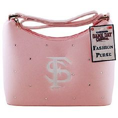 "NCAA Florida State Seminoles Ladies Microfiber Purse (Pink ""FS"") by Game Day Outfitters. $17.99. Team Logo and Colors. Great for Every Fan!. Show Your Team Pride. Officially Licensed NCAA Product. Florida State Seminoles Ladies Purse Microfiber Pink Fs"
