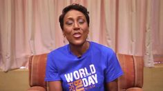 Robin Roberts - Blue Shirt Day® World Day of Bullying Prevention 2014