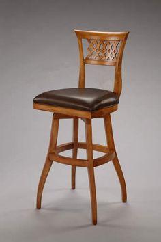 swivel counter wooden bar stool design
