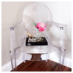 Chic ghost chair.