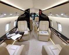 Bombardier Challenger 850 Private Jet- wouldn't mind one of these
