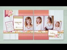 National Scrapbooking Month—Happy Times - YouTube
