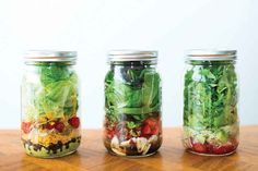 Mason Jar Salads | 19 Easy Recipes Every College Student Should Know