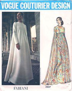 Vogue Couturier Design 2537; ca. 1971