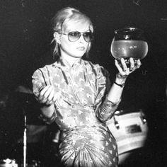 Debbie Harry at the CBGB, 1974