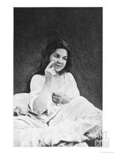 Auditory hallucination, from 'Iconographie de la Salpetriere' by Desire Magloire Bourneville (1840-1909)  Paul Regnard (1850-1927) 1878 (b/w photo), Londe, Albert (fl.1878-89) / Bibliotheque de la Faculte de Medecine, Paris, France