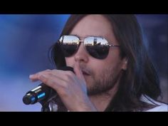 """Thirty Seconds to Mars Performs """"Up In the Air"""" - Jimmy Kimmel"""