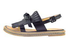 "Christian Louboutin SS 2014 ""Costa Nada"" leather sandal."