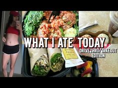 Hey! This what I ate today video is only based on drive thru, take-out , fast food whatever you call it food. I don't do this everyday! I prefer cooking/ mak...