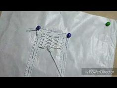Artesanato RENDA Renascença passo a passo como fazer o ponto caramujo-DIY - YouTube Filet Crochet, Romanian Lace, Mosaic Crafts, Needle Lace, Lace Making, Loom Knitting, Needle Felting, Hand Stitching, Hand Embroidery
