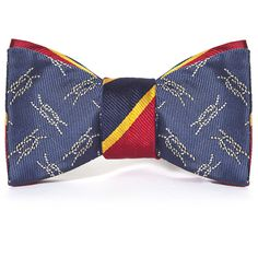 Social Primer: Omega Reversible Bow Tie ($75) ❤ liked on Polyvore