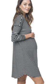 cf91e6aae7706 Maternity clothes, Maternity store, Maternity fashion - BAE The Label  Maternity Midi Dress,