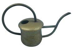 Brass Watering Can on OneKingsLane.com