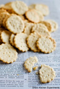 about Homemade Crackers on Pinterest | Homemade crackers, Crackers ...