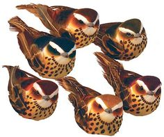 "Artificial Bird 4"" $29.60/dozen"
