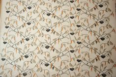 KINNAMARK Näverås Linen fabric Scandinavian fabric Scandinavian design Swedish fabric
